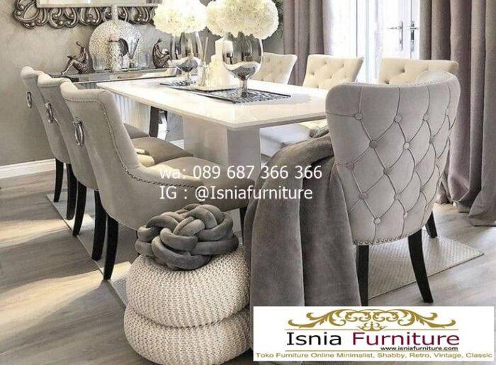 meja-makan-granit-putih-berkualitas-terbaik-700x515 Harga Meja Makan Granit Putih Minimalis Murah Kekinian