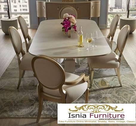 meja-makan-granit-putih-terbaru-minimalis-mewah Harga Meja Makan Granit Putih Minimalis Murah Kekinian