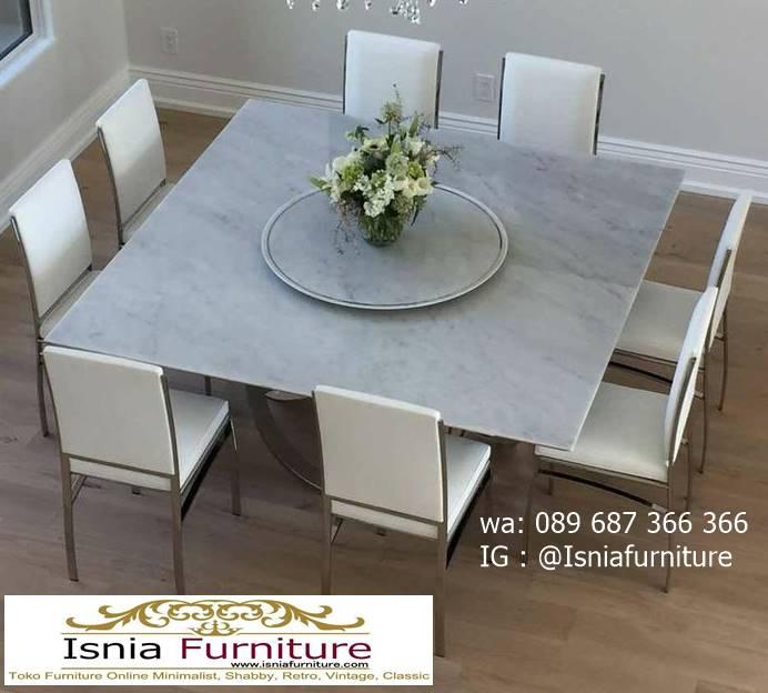 meja-marmer-asli-untuk-meja-makan-minimalis-modern-1 Meja Makan Marmer Asli Minimalis Mewah Kekinian