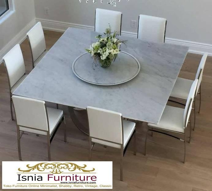 meja-marmer-asli-untuk-meja-makan-minimalis-modern-2 Harga Jual Meja Marmer Besar Modern Murah Terpopuler