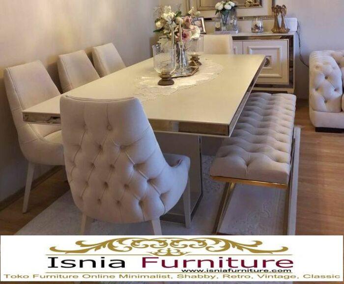 meja-marmer-besar-desain-marmer-putih-untuk-meja-makan-700x578 Harga Jual Meja Marmer Besar Modern Murah Terpopuler