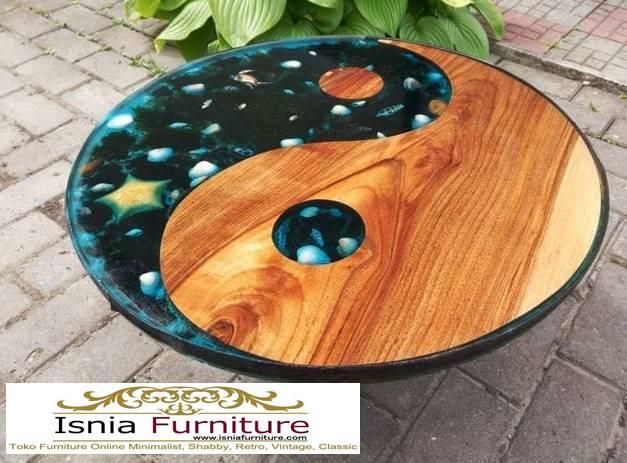meja-resin-bulat-kayu-solid-harga-murah Jual Meja Resin Bulat Kayu Solid Murah Kekinian