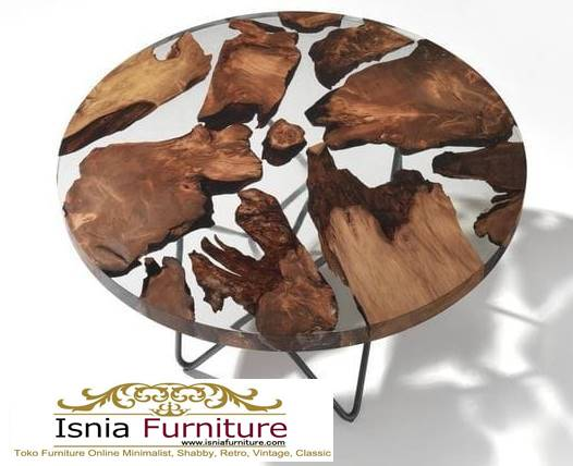 meja-resin-bulat-kayu-solid-harga-terjangkau Jual Meja Resin Bulat Kayu Solid Murah Kekinian
