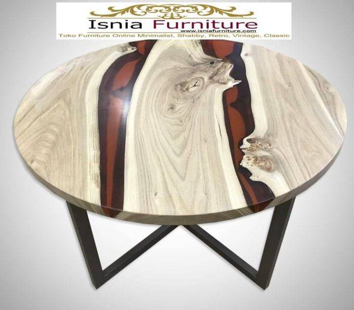 meja-resin-bulat-kayu-solid-kualitas-terbaik-700x613 Jual Meja Resin Bulat Kayu Solid Murah Kekinian