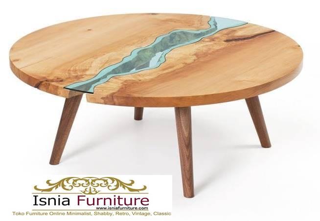 meja-resin-bulat-kayu-solid-minimalis-murah Jual Meja Resin Bulat Kayu Solid Murah Kekinian