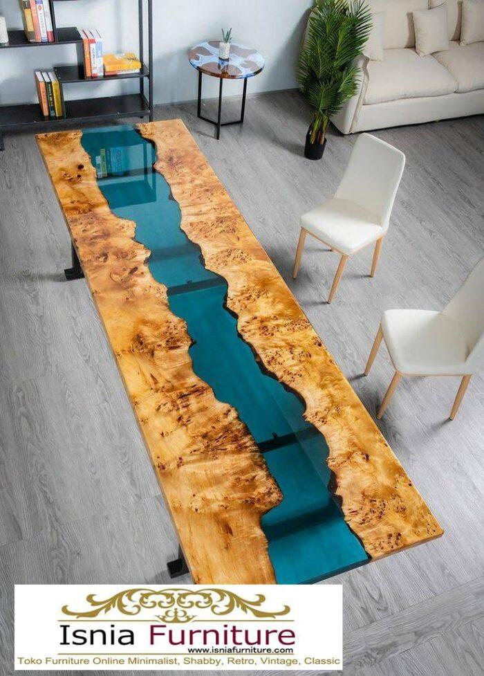 meja-resin-jepara-untuk-meja-makan-termewah-700x977 Jual Meja Resin Jepara Kayu Solid Minimalis Modern
