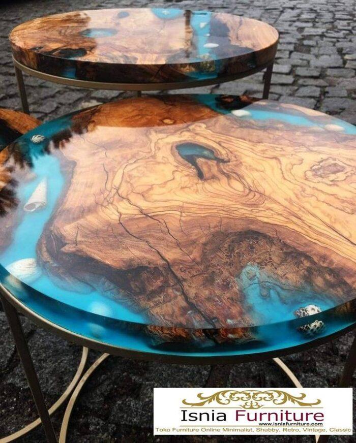 meja-resin-menyala-bentuk-bulat-paling-unik-1-700x872 Jual Meja Resin Unik Antik Modern Terlaris Harga Murah