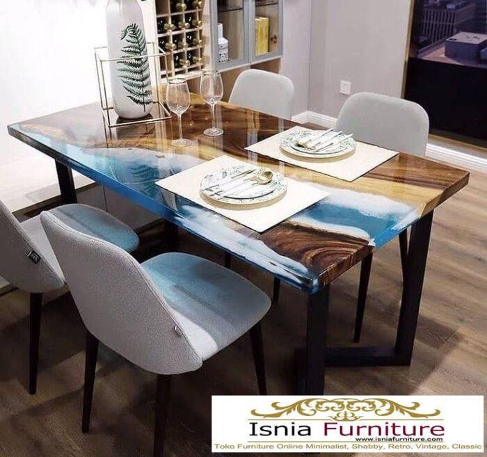 meja-resin-menyala-kayu-solid-minimalis-700x657 Harga Jual Meja Resin Menyala Murah Terbaru Terlaris