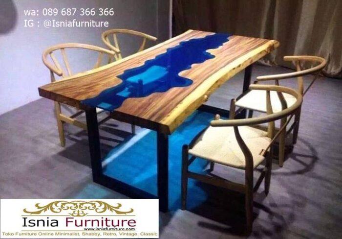 meja-resin-menyala-untuk-meja-makan-minimalis-mewah-700x488 Harga Jual Meja Resin Menyala Murah Terbaru Terlaris