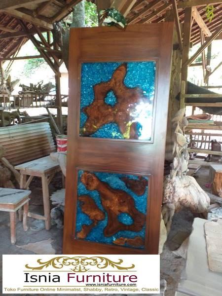 pintu-resin-dari-kayu-jati-solid-desain-minimalis-mewah Pintu Resin Dari Kayu Mewah Harga Terjangkau Terpopuler