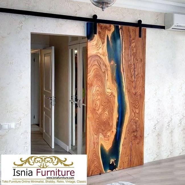 pintu-resin-dari-kayu-jati-solid Pintu Resin Dari Kayu Mewah Harga Terjangkau Terpopuler