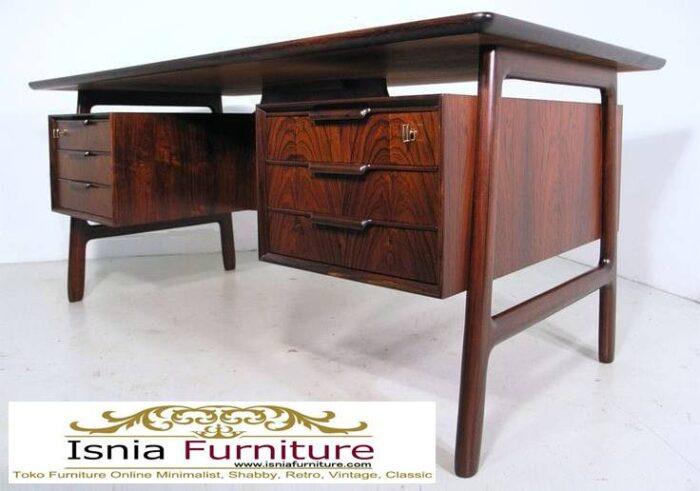 meja-kantor-kerja-kayu-jati-solid-minimalis-700x491 Meja Kantor Kerja Kayu Solid Minimalis Murah Terbaru
