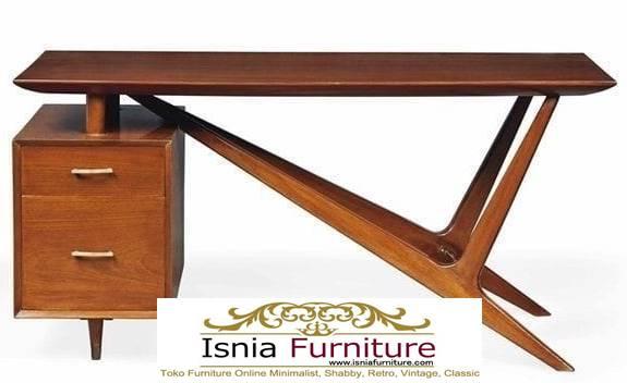 meja-kantor-kerja-kayu-jati-solid-model-paling-unik-adanya-desain-laci-unik Meja Kantor Kerja Kayu Solid Minimalis Murah Terbaru