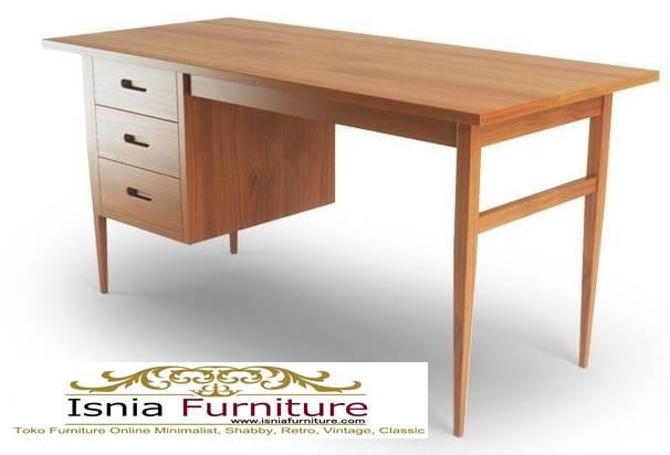 meja-kantor-kerja-kayu-solid-harga-murah-berkualitas Meja Kantor Kerja Kayu Solid Minimalis Murah Terbaru
