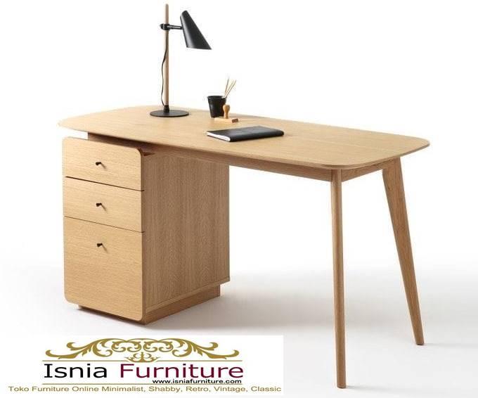 meja-kantor-kerja-kayu-solid-jati-harga-murah Meja Kantor Kerja Kayu Solid Minimalis Murah Terbaru