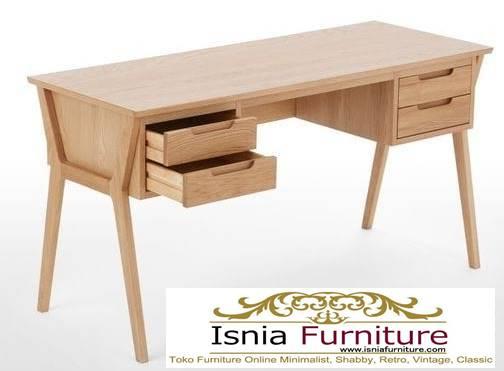 meja-kantor-kerja-kayu-solid-jati-kekinian-harga-murah Meja Kantor Kerja Kayu Solid Minimalis Murah Terbaru