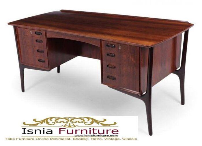 meja-kantor-kerja-kayu-solid-kekinian-dari-kayu-jati-700x506 Meja Kantor Kerja Kayu Solid Minimalis Murah Terbaru