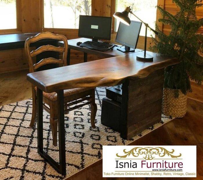 meja-kantor-kerja-kayu-solid-kekinian-harga-terjangkau-700x621 Meja Kantor Kerja Kayu Solid Minimalis Murah Terbaru