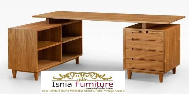 meja-kantor-kerja-kayu-solid-minimalis-kualitas-paling-terbaik Meja Kantor Kerja Kayu Solid Minimalis Murah Terbaru