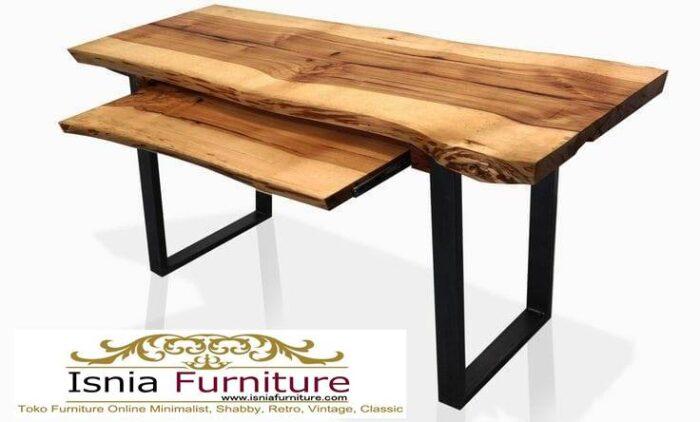 meja-kantor-kerja-kayu-solid-termurah-kayu-trembesi-utuh-700x422 Meja Kantor Kerja Kayu Solid Minimalis Murah Terbaru