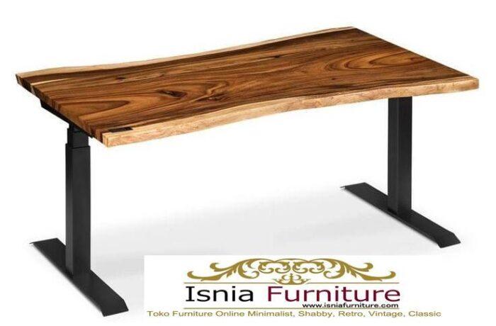 meja-kantor-kerja-kayu-trembesi-solid-minimalis-700x460 Meja Kantor Kerja Kayu Solid Minimalis Murah Terbaru