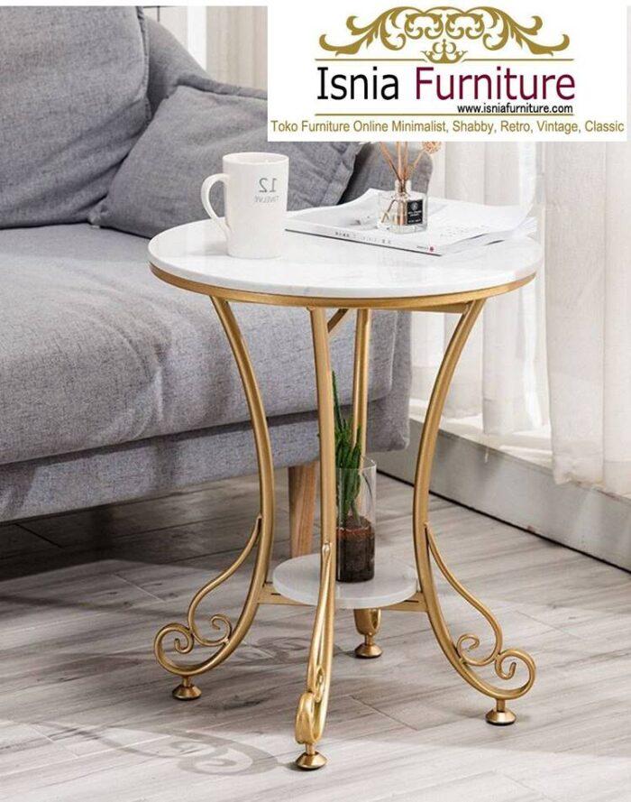 meja-sudut-marmer-bentuk-bulat-minimalis-harga-murah-700x889 Jual Meja Sudut Marmer Modern Terlaris Harga Terjangkau