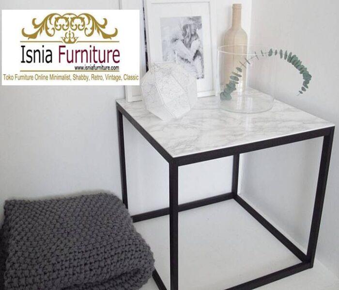 meja-sudut-marmer-bentuk-kotak-minimalis-700x598 Jual Meja Sudut Marmer Modern Terlaris Harga Terjangkau