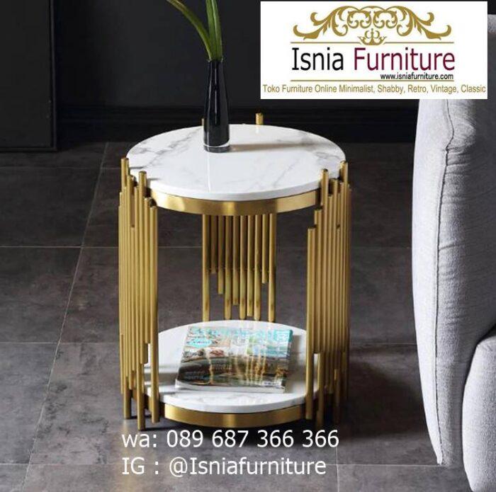 meja-sudut-marmer-bentuk-unik-lucu-minimalis-700x695 Jual Meja Sudut Marmer Modern Terlaris Harga Terjangkau