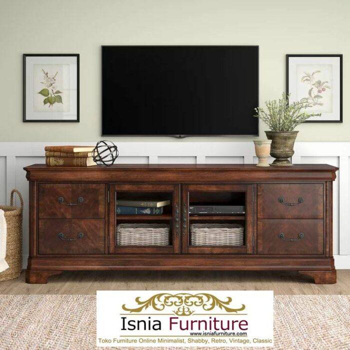 meja-tv-kayu-jati-antik-minimalis-modern-700x700 Jual Meja Tv Kayu Jati Antik Solid Minimalis Kekinian