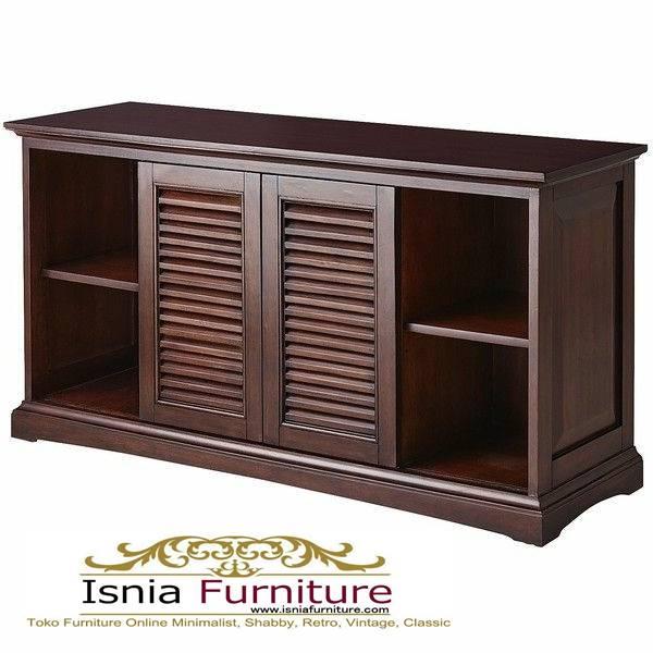 meja-tv-kayu-jati-antik-minimalis-solid Jual Meja Tv Kayu Jati Antik Solid Minimalis Kekinian