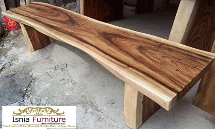 bangku-kayu-trembesi-terkini-700x421 Jual Bangku Panjang Trembesi Solid Minimalis Modern