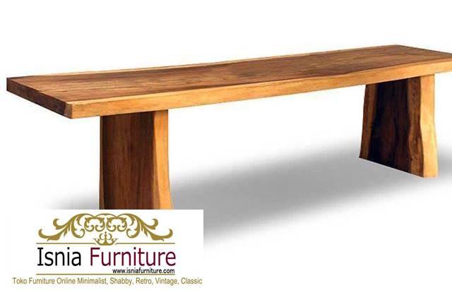 bangku-panjang-trembesi-kayu-solid Jual Bangku Panjang Trembesi Solid Minimalis Modern