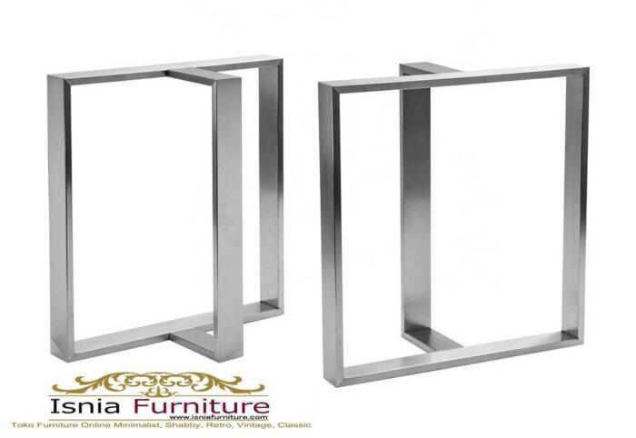 kaki-meja-makan-stainless-steel-harga-murah-700x482 Jual Kaki Meja Makan Stainless Steel Anti Karat Murah Terlaris