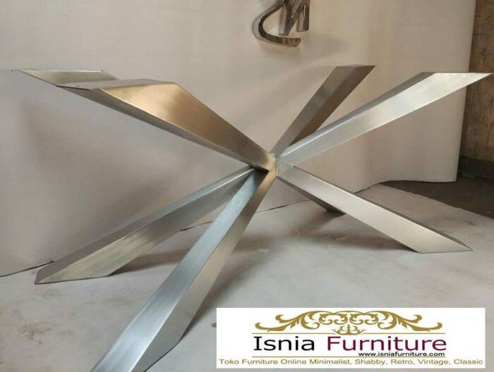 kaki-meja-stainless-harga-murah-terlaris-1-700x528 Jual Kaki Meja Makan Stainless Steel Anti Karat Murah Terlaris