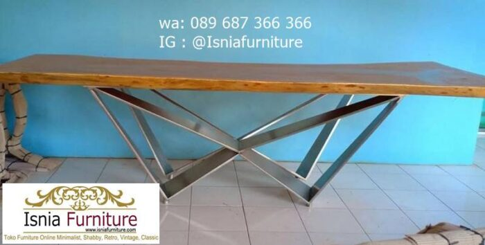 kaki-meja-stainless-surabaya-minimalis-modern-murah-700x354 Jual Kaki Meja Stainless Surabaya Unik Harga Murah