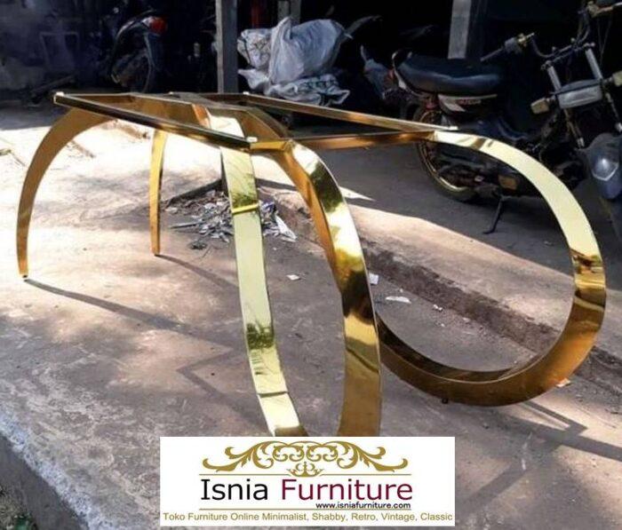 kaki-meja-stainless-surabaya-terbaik-desain-gold-mewah-700x597 Jual Kaki Meja Stainless Surabaya Unik Harga Murah