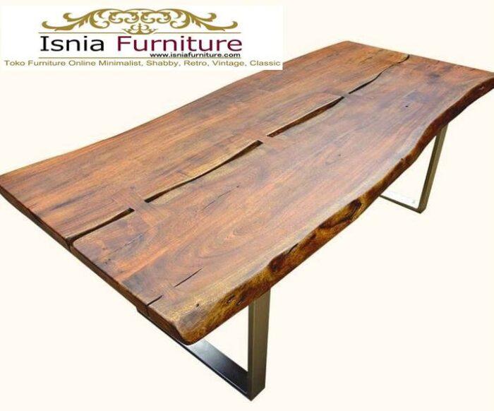meja-makan-kayu-balok-solid-utuh-harga-langsung-dari-pengrajin-700x582 Jual Meja Makan Kayu Balok Harga Murah Terlaris