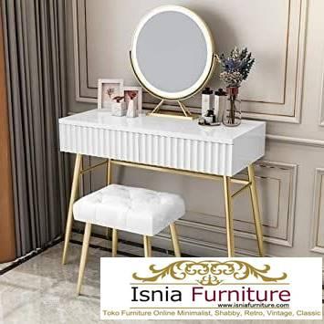 meja-rias-marmer-harga-murah-desain-minimalis Jual Meja Rias Marmer Modern Harga Terjangkau Terpopuler