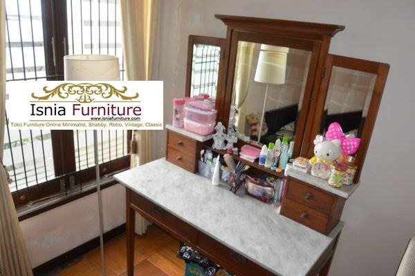 meja-rias-marmer-perpaduan-kayu-solid-minimalis-murah Jual Meja Rias Marmer Modern Harga Terjangkau Terpopuler