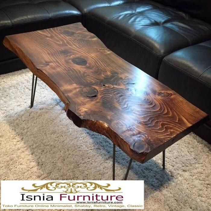 meja-tamu-tebal-kayu-jati-solid-antik-desain-kaki-besi-unik-700x700 Meja Tamu Tebal Kayu Jati Antik Solid Minimalis