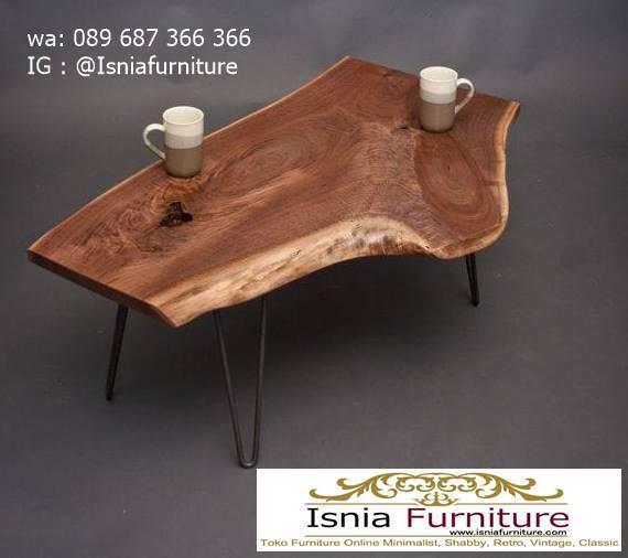 meja-tamu-tebal-kayu-jati-solid-harga-terjangkau Meja Tamu Tebal Kayu Jati Antik Solid Minimalis