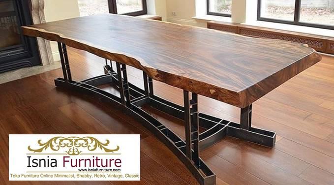 meja-trembesi-besar-kayu-solid-harga-langsung-dari-pengrajin Jual Meja Trembesi Besar Minimalis Solid Kualitas Terbaik