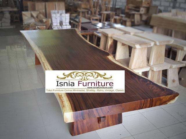 meja-trembesi-besar-kayu-solid-kekinian-harga-terjangkau Jual Meja Trembesi Besar Minimalis Solid Kualitas Terbaik