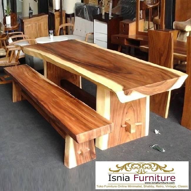 meja-trembesi-besar-solid-minimalis-unik Jual Meja Trembesi Besar Minimalis Solid Kualitas Terbaik