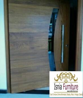 pintu-kayu-trembesi-kualitas-terbaik Jual Pintu Kayu Trembesi Solid Harga Murah Terbaru