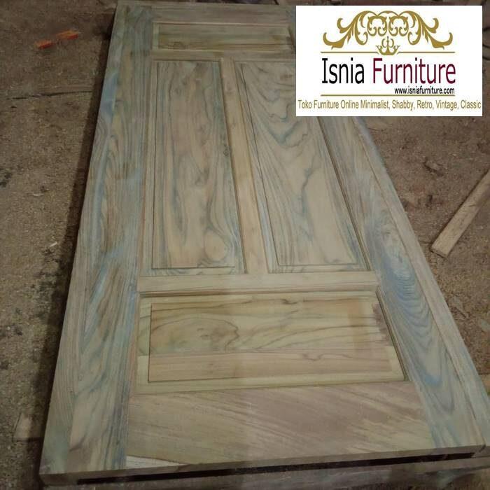 pintu-kayu-trembesi-minimalis-harga-terjangkau-700x700 Jual Pintu Kayu Trembesi Solid Harga Murah Terbaru