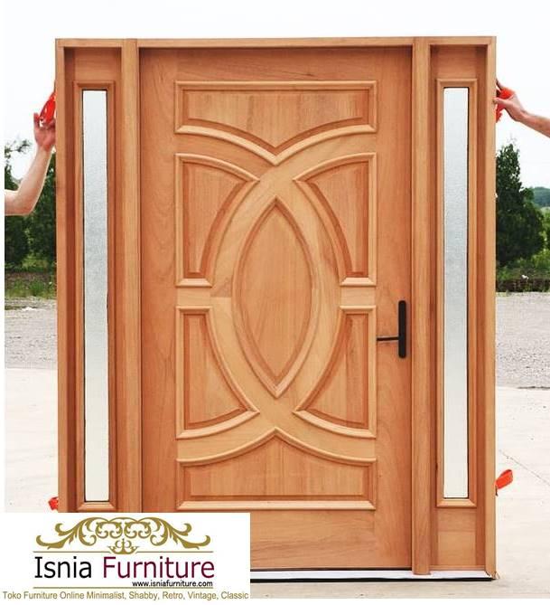 pintu-kayu-trembesi-minimalis-termurah Jual Pintu Kayu Trembesi Solid Harga Murah Terbaru