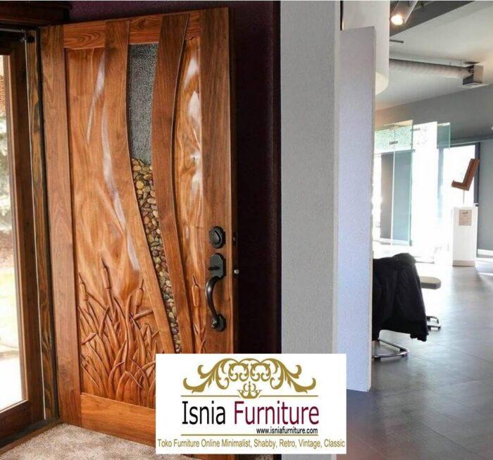 pintu-kayu-trembesi-model-terbaru-700x653 Jual Pintu Kayu Trembesi Solid Harga Murah Terbaru