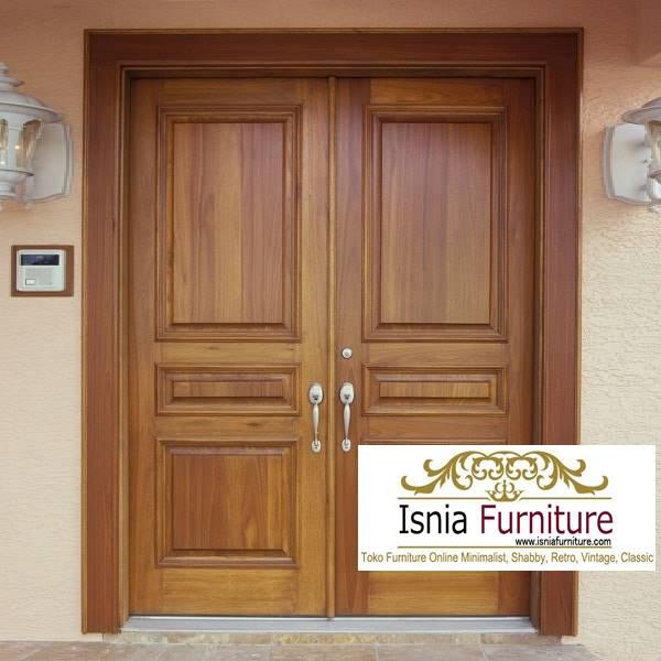 pintu-kayu-trembesi-model-terbaru-kekinian-terlaris Jual Pintu Kayu Trembesi Solid Harga Murah Terbaru