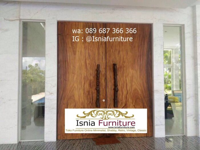 pintu-kayu-trembesi-solid-model-terbaru-700x525 Jual Pintu Kayu Trembesi Solid Harga Murah Terbaru